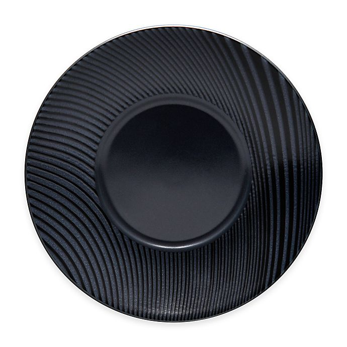 Alternate image 1 for Noritake® Black on Black Dune Saucer