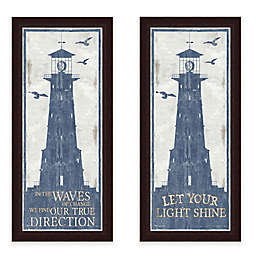 Framed Lighthouse Wall Art Collection