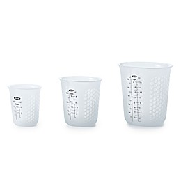 OXO Good Grips® Squeeze & Pour 3-Piece Silicone Measuring Cup Set