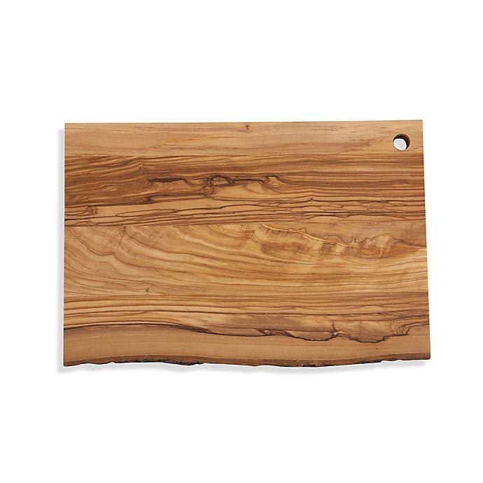 Alternate image 1 for Olive Wood 14-Inch x 9-Inch Oblong Cutting Board