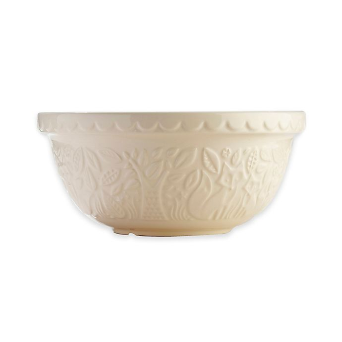 Alternate image 1 for Mason Cash® 4.25 qt.  Embossed Fox Mixing Bowl