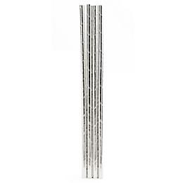 Kikkerland® 144-Pack Paper Straws in Silver