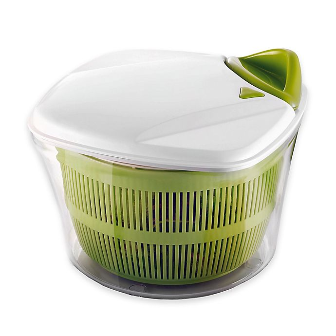 Alternate image 1 for Paderno® World Cuisine Manual Salad Spinner in Green