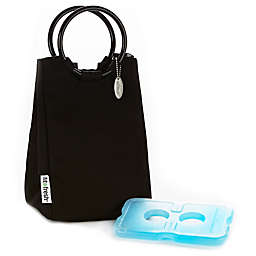 Fit & Fresh® Retro Insulated Lunch Bag in Black