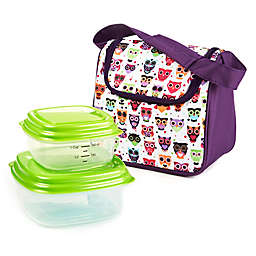 Fit & Fresh® 3-Piece Morgan Insulated Lunch Bag and Portion Control Container Set