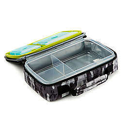 Fit and Fresh Bento Lunch Box Kit in Black and White Camo