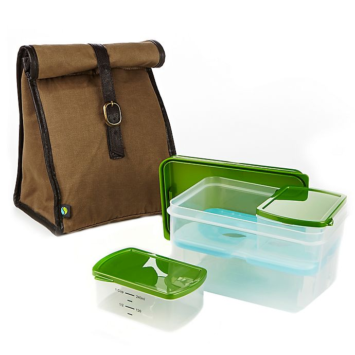 edff55394155 Fit & Fresh® Classic Insulated Lunch Bag with Ice Pack and Container ...