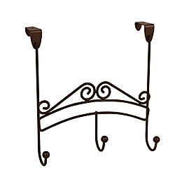 Spectrum® Yorkshire Over the Door 3-Hook Rack