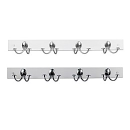 Spectrum™ Stratford Wood Rack with 4 Double Hooks