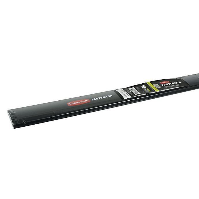 Alternate image 1 for Rubbermaid® FastTrack® Rail in Black