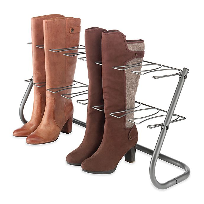 Alternate image 1 for Steel Boot Stand