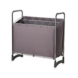 12-Compartment Utility Storage Unit in Silver