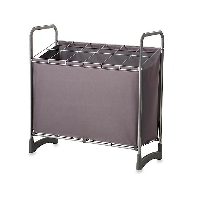 Alternate image 1 for 12-Compartment Utility Storage Unit in Silver