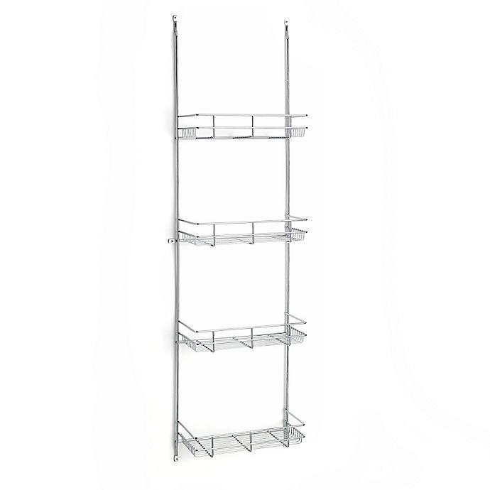 Alternate image 1 for Rev-A-Shelf - 5CLR46-52 - Chrome Door Mount Linen Rack