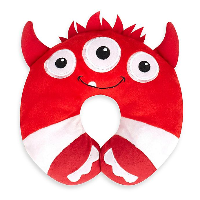 Alternate image 1 for Nuby™ Monster Head Support in Red