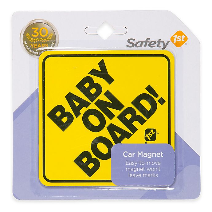 Alternate image 1 for Safety 1st® Baby on Board Car Magnet