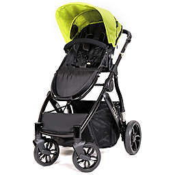 MUV REIS 4-Wheel Stroller in Satin Black/Kiwi