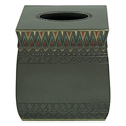 Bacova Sierra Zigzag Boutique Tissue Box Cover