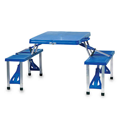 Picnic Time® Folding Picnic Table with Seats