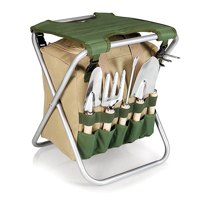 Alternate image 1 for PicnicTime®Gardener Chair and Tools Set