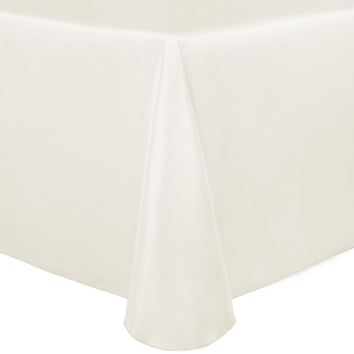 Alternate image 1 for Duchess 90-Inch x 156-Inch Tablecloth in Ivory