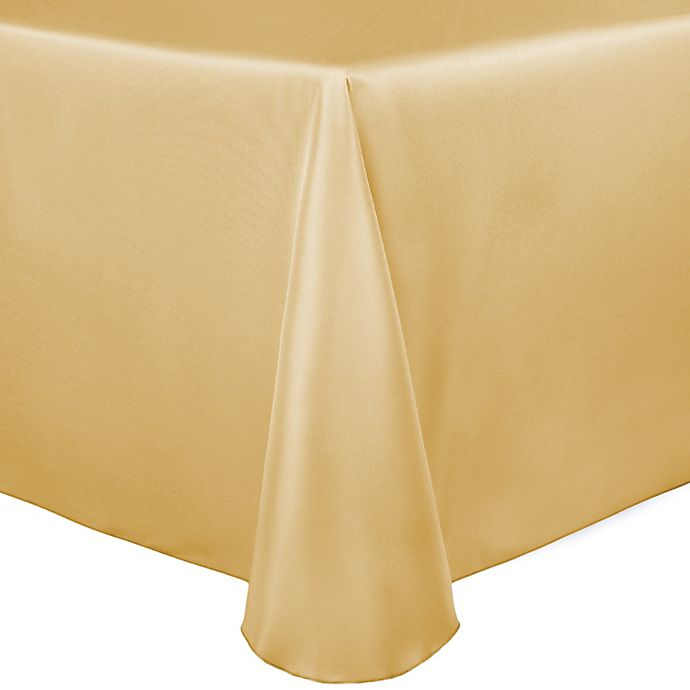 Alternate image 1 for Duchess 90-Inch x 156-Inch Tablecloth in Wheat