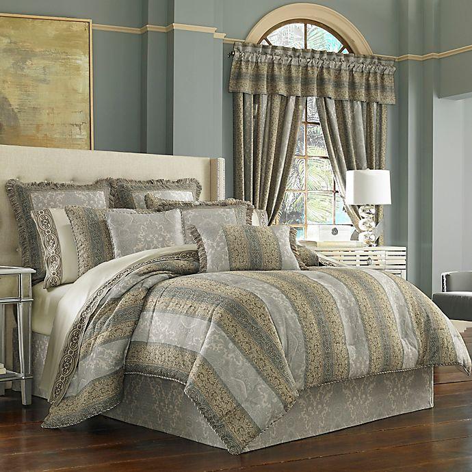 Alternate image 1 for J. Queen New York™ Hemmingway Comforter Set in Blue