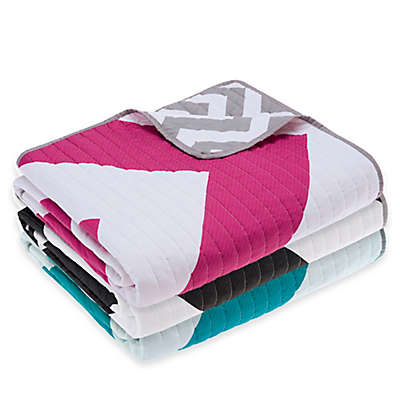 Madison Park Libra Reversible Quilted Throw