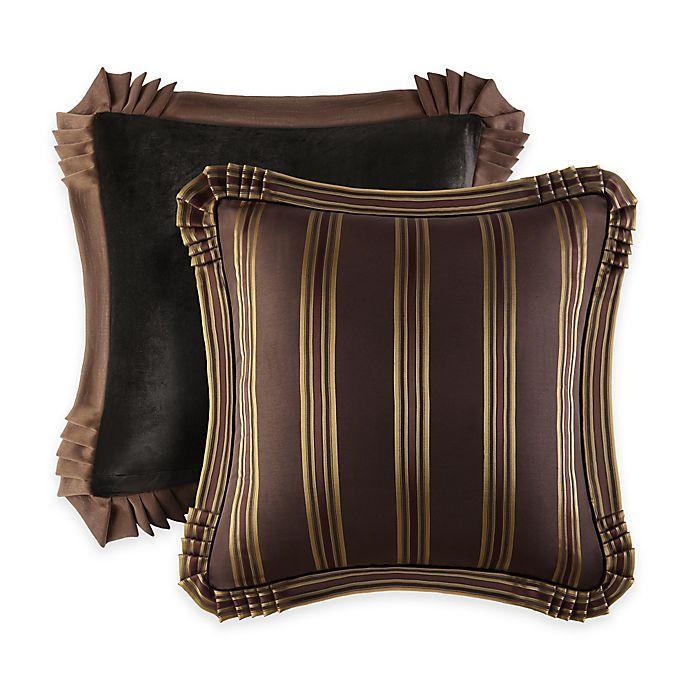 Alternate image 1 for J. Queen New York™ Coventry European Pillow Sham in Brown