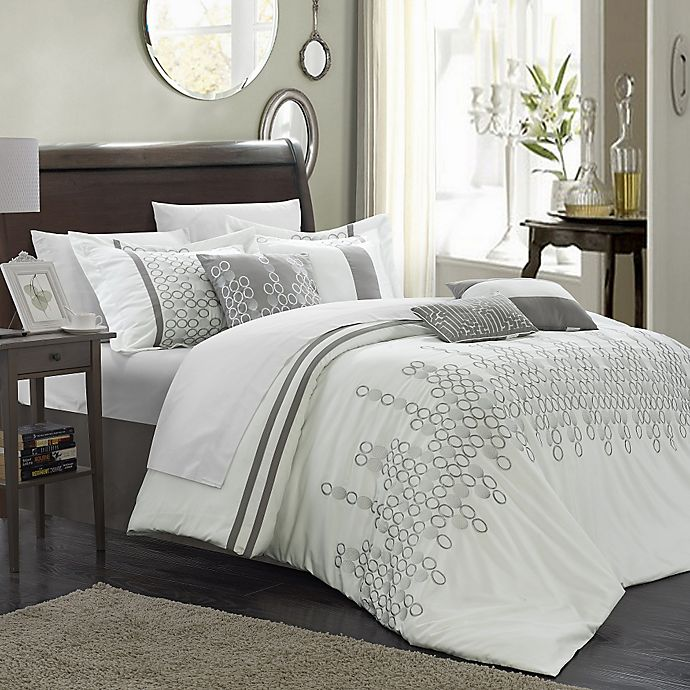 Alternate image 1 for Chic Home Layla 8-Piece Comforter Set