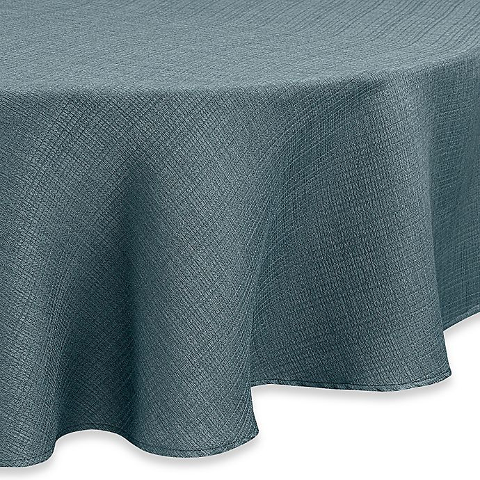 Alternate image 1 for Noritake® Colorwave 70-Inch Round Tablecloth in Turquoise
