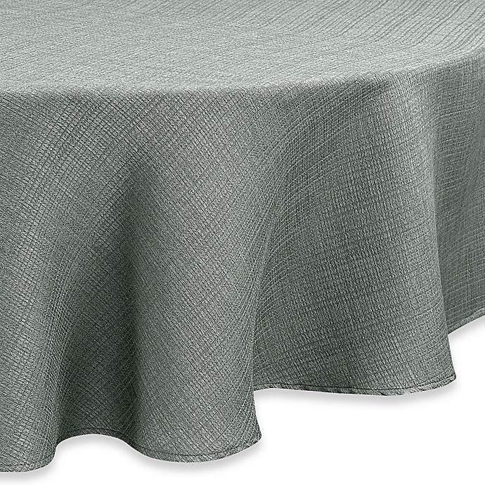 Alternate image 1 for Noritake® Colorwave 60-Inch Round Tablecloth in Green