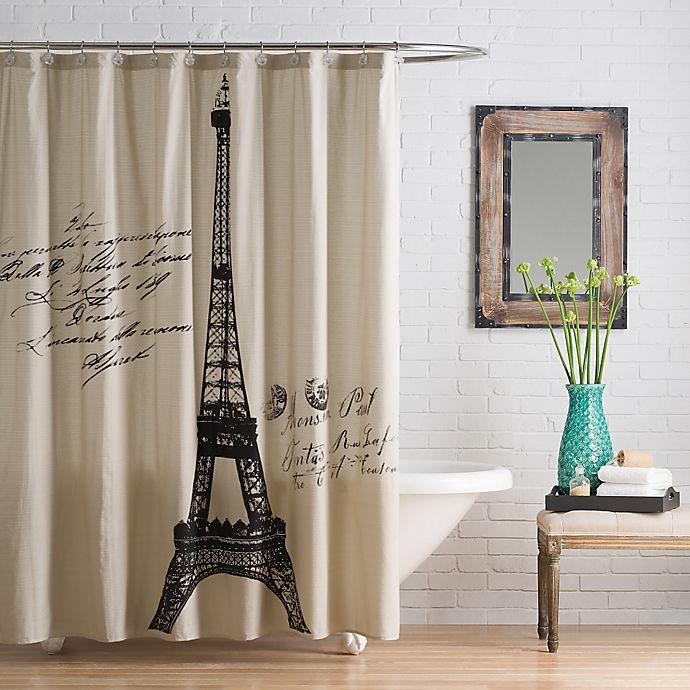 AnthologyTM Paris Cotton Shower Curtain