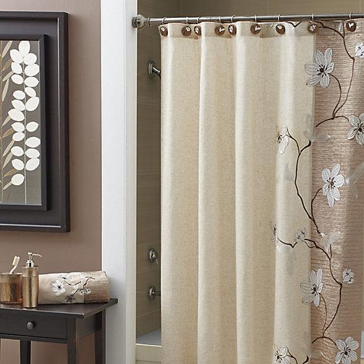 Alternate image 1 for Croscill® Magnolia Shower Curtain