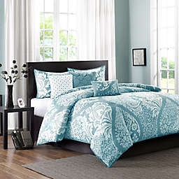 Madison Park Vienna 7-Piece Comforter Set in Blue