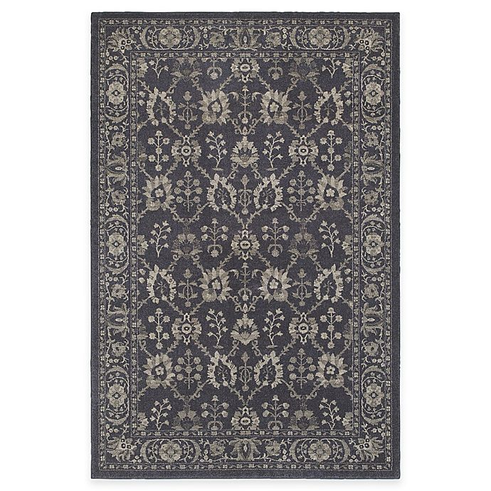 Alternate image 1 for Oriental Weavers Richmond Blossom 1-Foot 10-Inch x 3-Foot Accent Rug in Navy