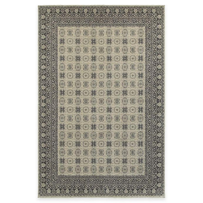 Alternate image 1 for Oriental Weavers Richmond Border 1-Foot 10-Inch x 3-Foot Accent Rug in Ivory