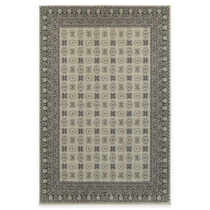 Alternate image 1 for Oriental Weavers Richmond Border 7-Foot 10-Inch x 10-Foot 10-Inch Area Rug in Ivory