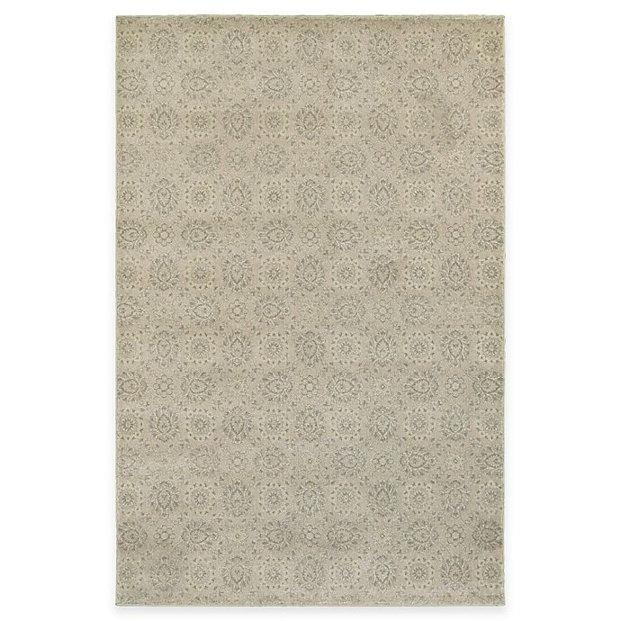 Alternate image 1 for Oriental Weavers Richmond Floral Damask 7-Foot 10-Inch Round Area Rug in Beige