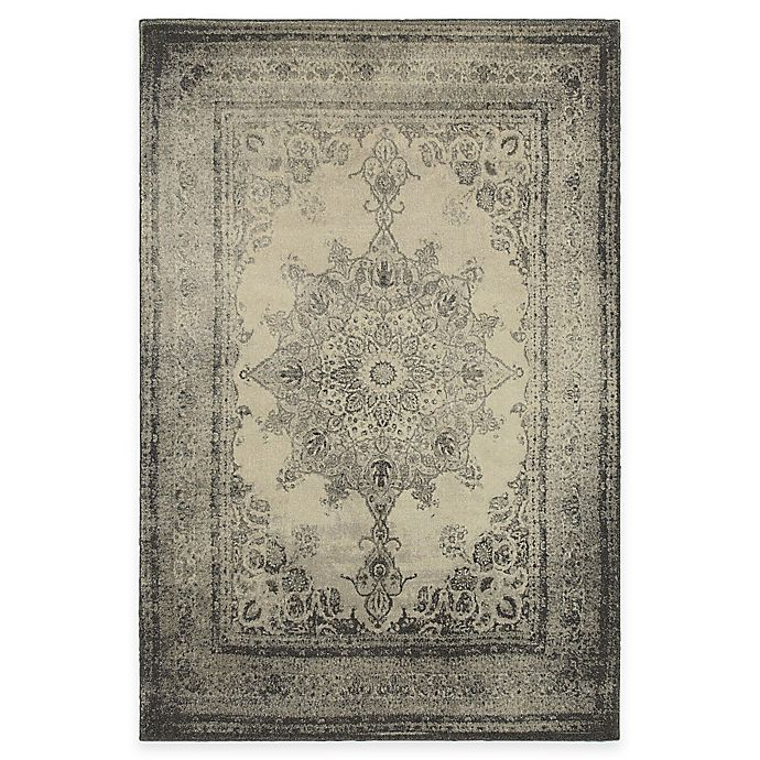 Alternate image 1 for Oriental Weavers Richmond Distressed Medallion 5-Foot 3-Inch x 7-Foot 6-Inch Area Rug in Ivory