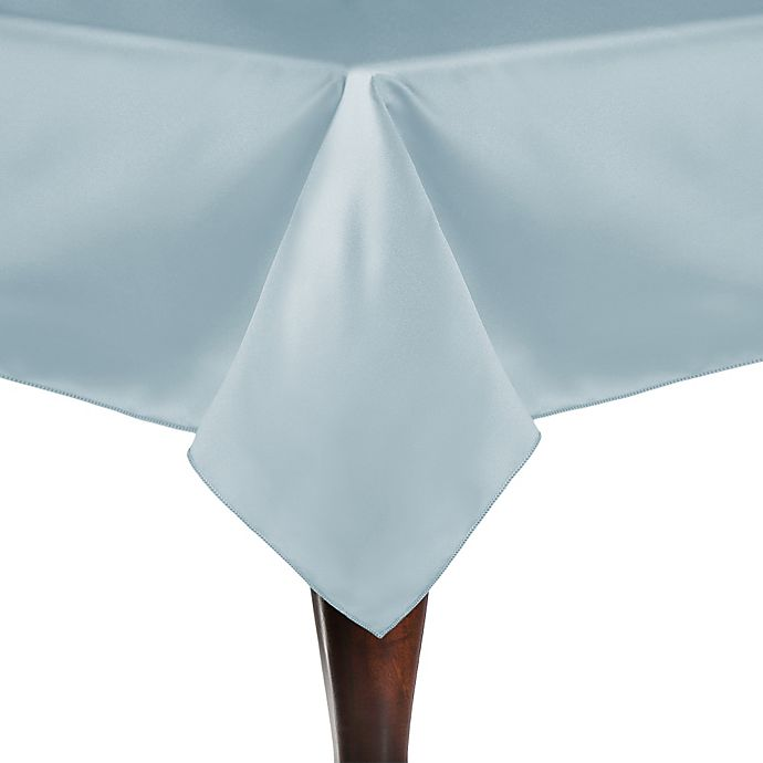 Alternate image 1 for Duchess 72-Inch Square Tablecloth in Ice Blue