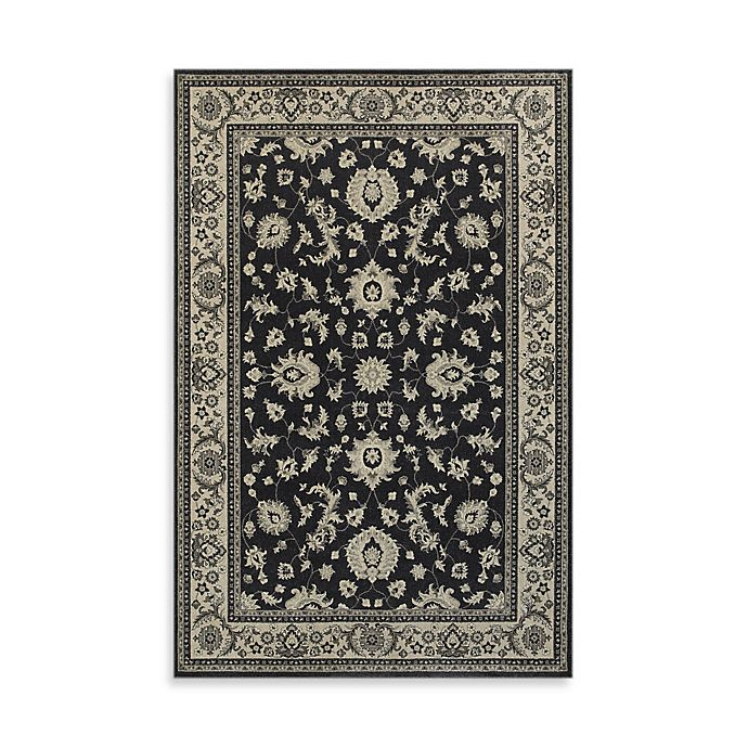 Alternate image 1 for Oriental Weavers Richmond Limon 1-Foot 10-Inch x 3-Foot Accent Rug in Charcoal