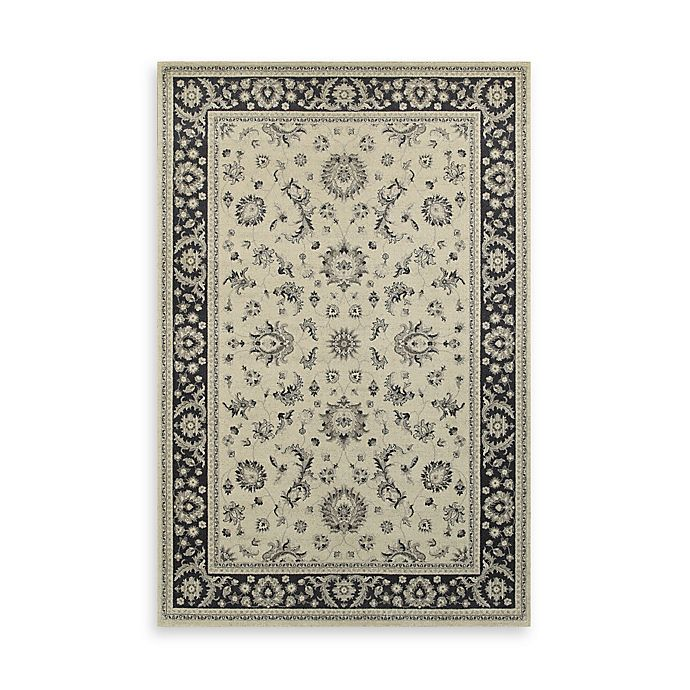 Alternate image 1 for Oriental Weavers Richmond Limon 7-Foot 10-Inch Round Area Rug in Ivory