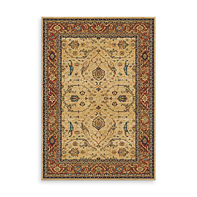 Aria Rugs Mardi Gras Family Tradition 7-Foot 10-Inch x 10-Foot 10-Inch Area Rug in Ankara Bone