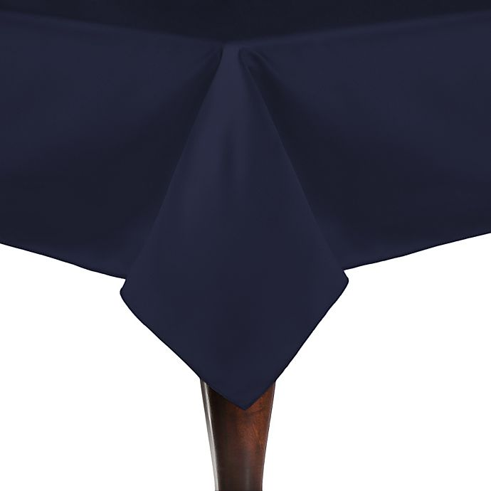Alternate image 1 for Duchess 72-Inch Square Tablecloth in Navy