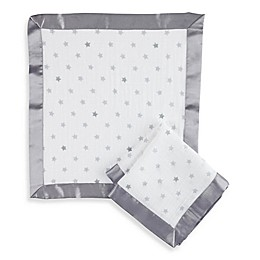 aden® by aden + anais® Dove Muslin Issie Security Blanket in Grey
