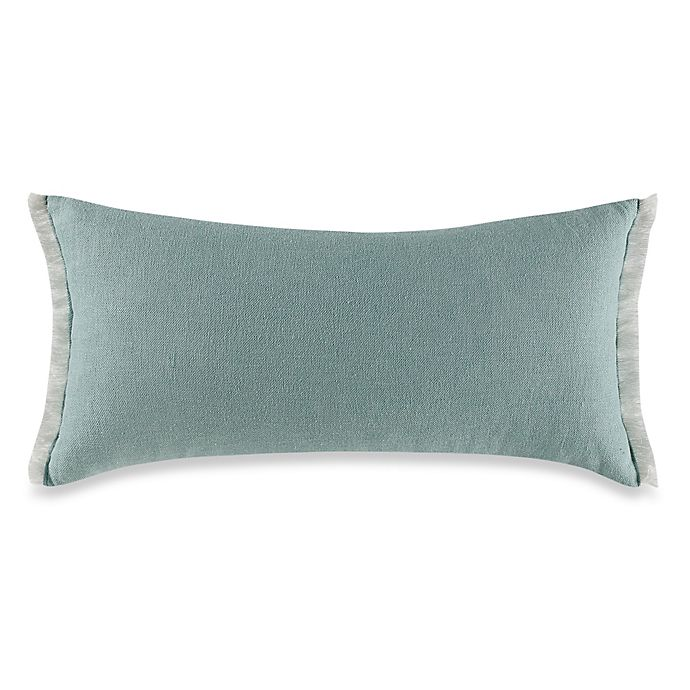 Kenneth Cole New York Escape Raw Edge Oblong Throw Pillow