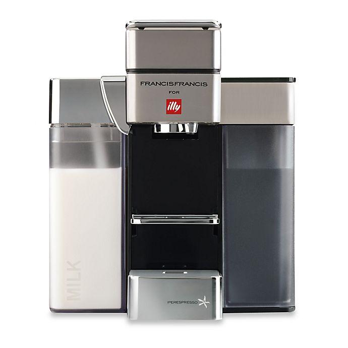 Alternate image 1 for illy® Francis Francis Y5 Milk iper Espresso Machine in Satin