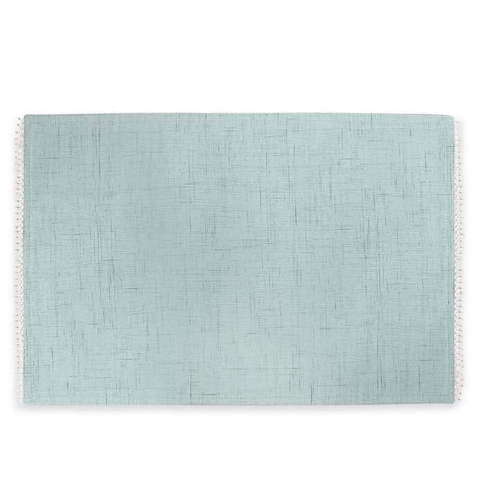 Alternate image 1 for Lenox® French Perle Solid Placemat in Ice Blue