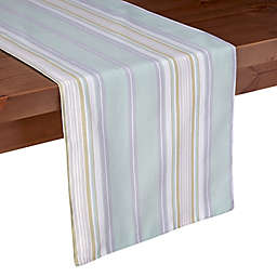 Lenox® French Perle Stripe Table Runner in Ice Blue